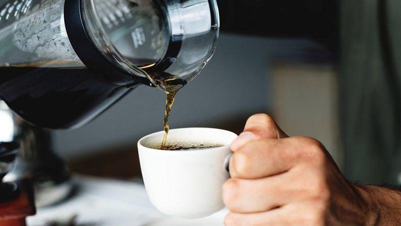 Kaffee im Café Koz Studenten