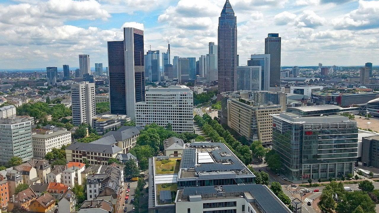 Gratis Ausblick über Frankfurt