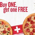 Pizza Hut: 1+1 gratis Pizza Gutschein im neuen Gutscheinheft!