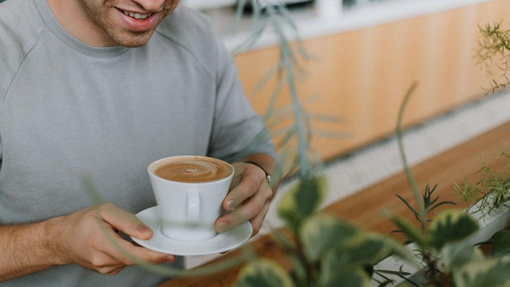 Lernen in der Kaffeemacherei in Frankfurt