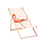 Flamingo Liegestuhl in Aktion!