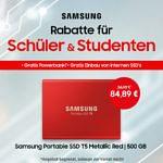 Samsung SSD in Metallic Red zum Schnäppchenpreis!