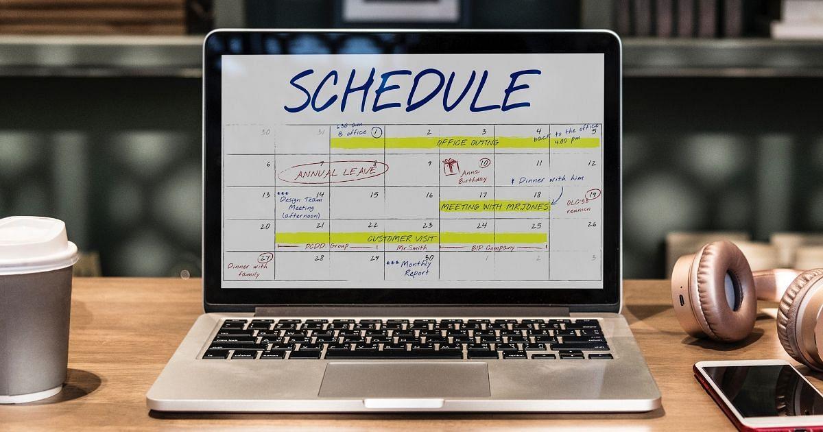 Semesterplanung, Schedule, Kalender