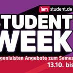 STUDENT WEEK: Unsere genialsten Angebote für deinen Semesterstart!