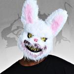Halloween Hasenmaske stark reduziert!