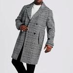 Karierter Mantel stark reduziert!