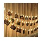 Dekorative Foto-Lichterkette zum kleinen Preis!