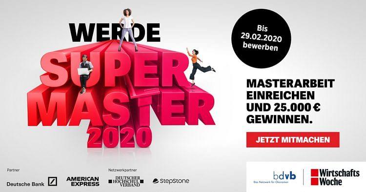 WirtschaftsWoche Supermaster 2020