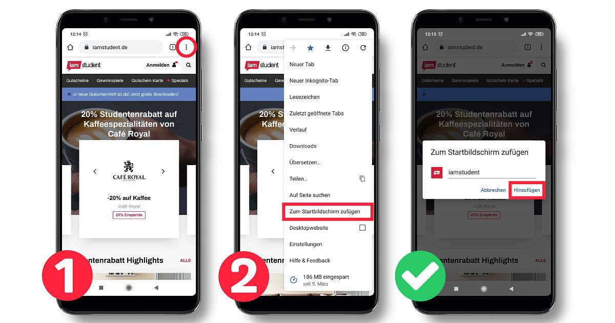 iamstudent Webapp Android