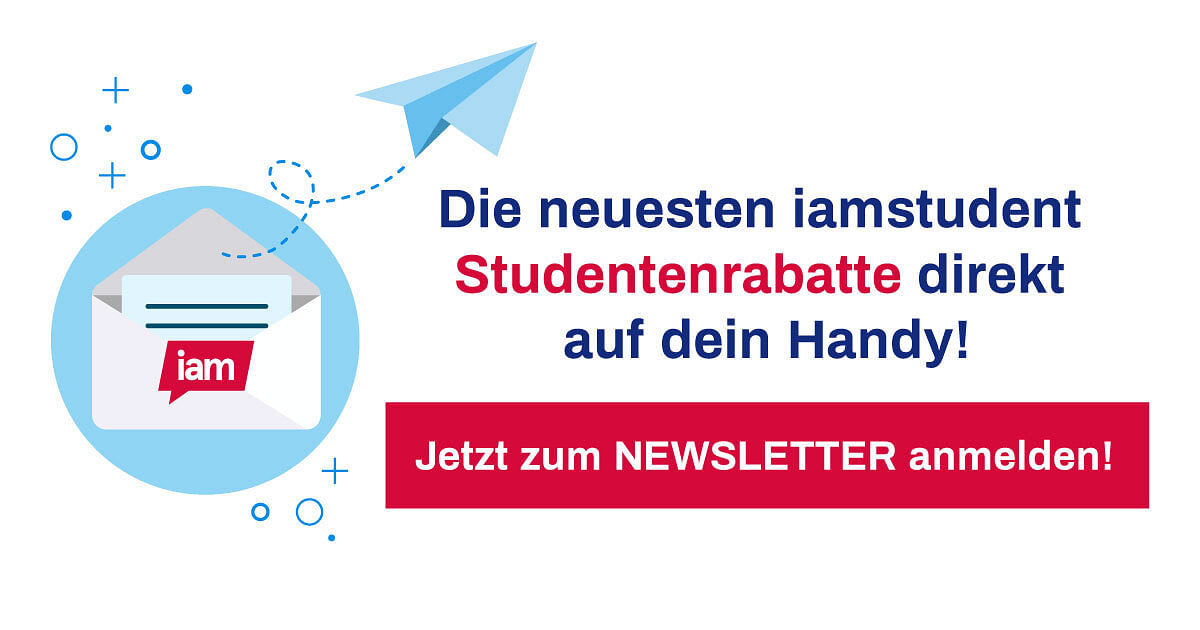 iamstudent Newsletter Anmeldung